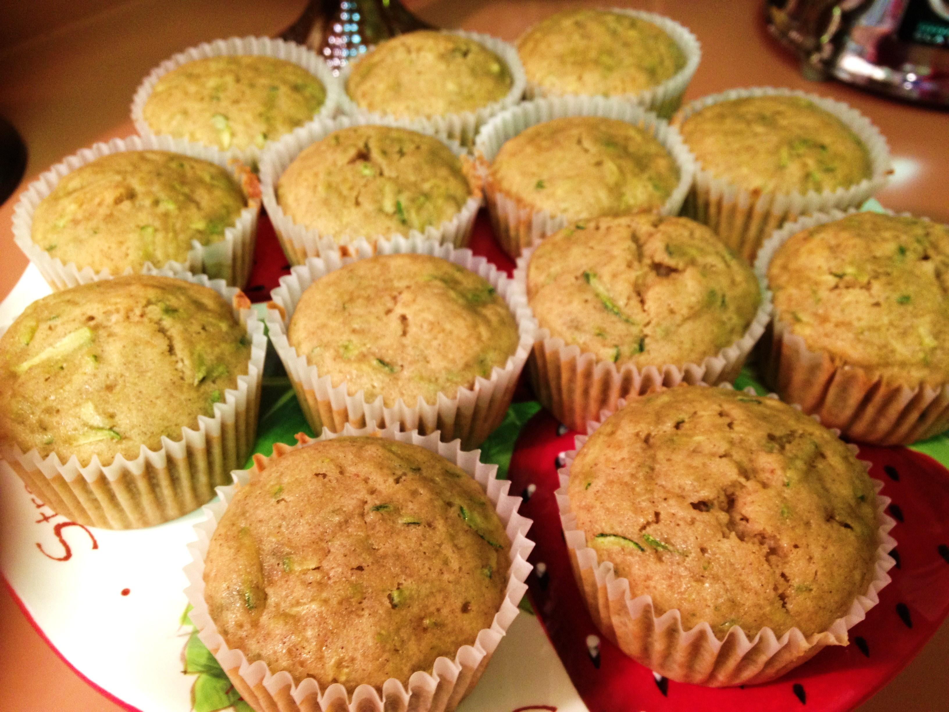 Zucchini Muffins   Rose & Lea