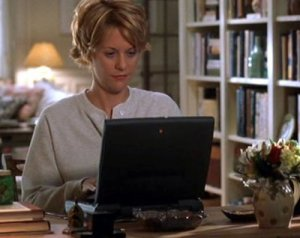You've got mail meg and laptop