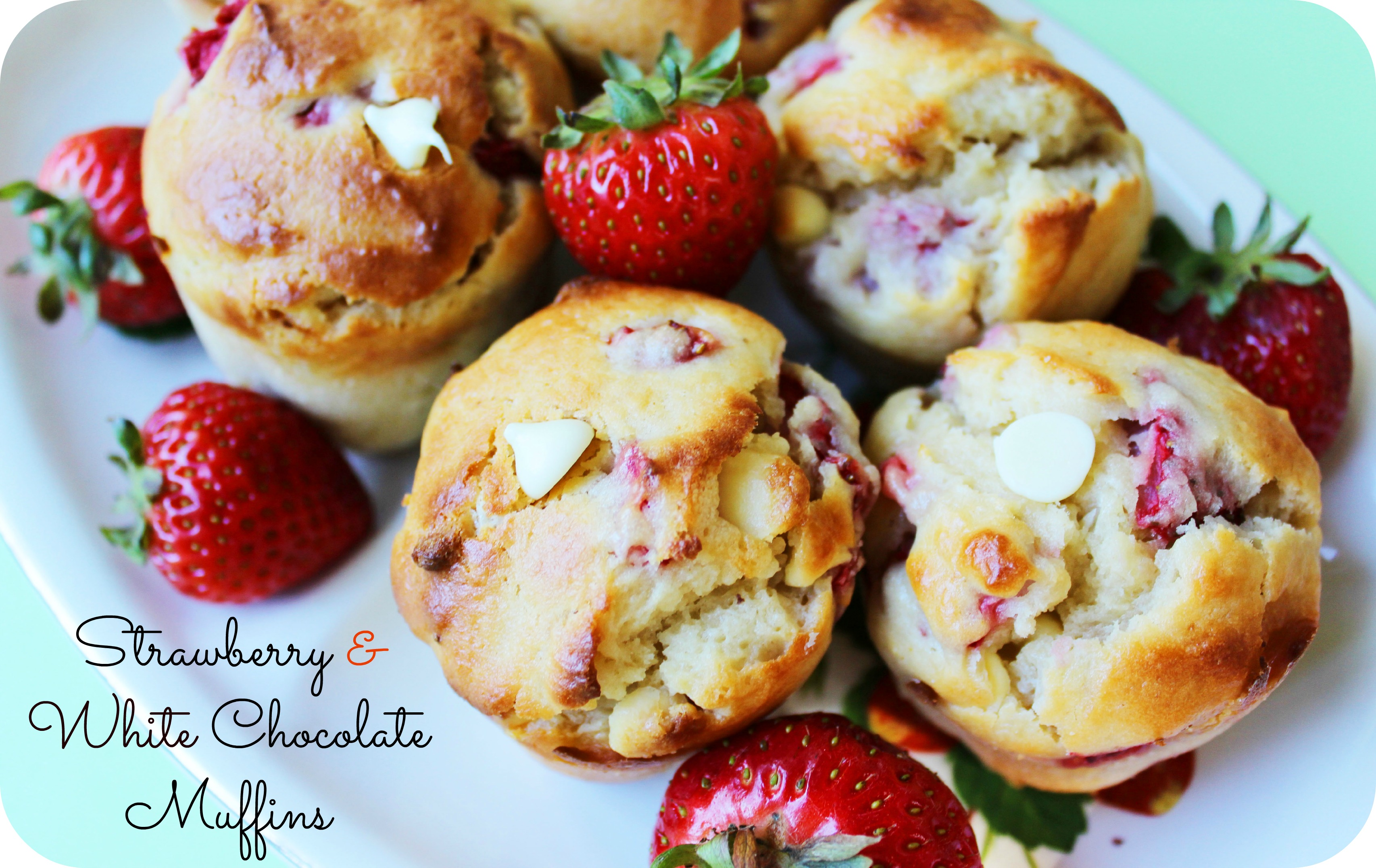 strawberry muffins | Rose & Lea