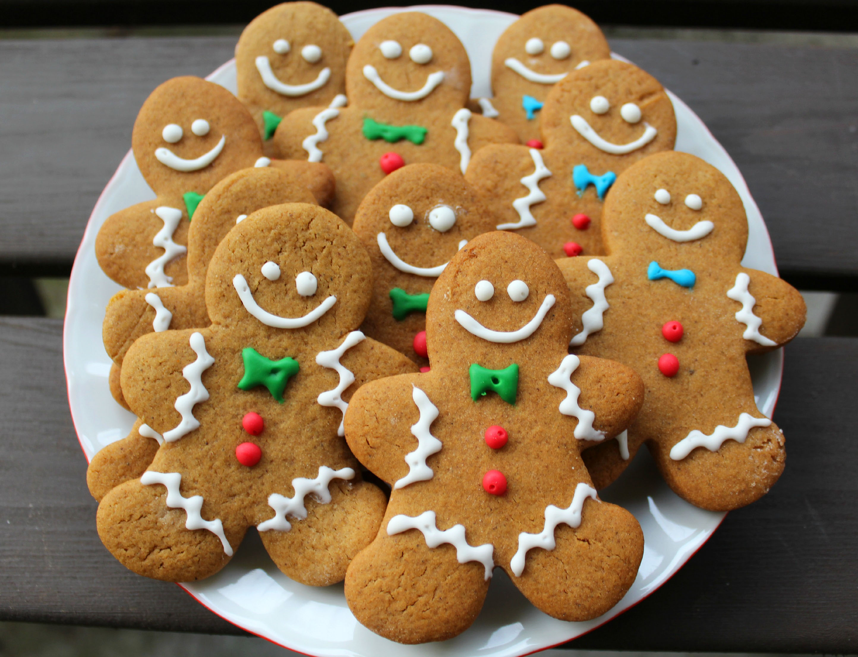 christmas cookies decorated with fondant