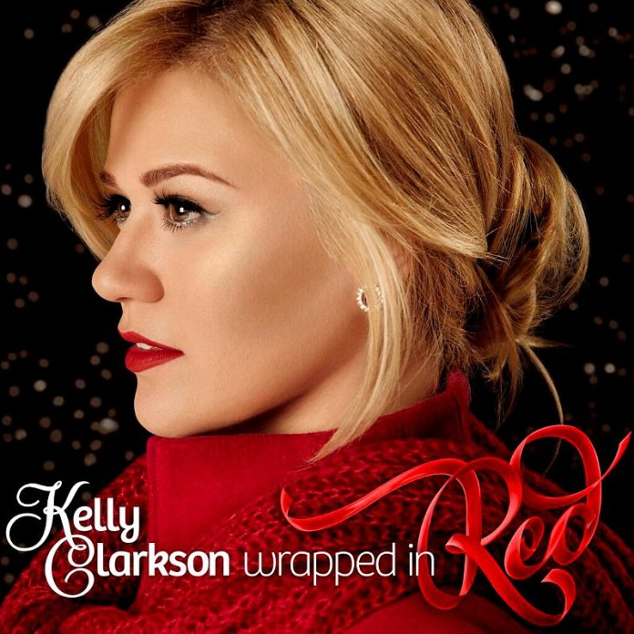 kelly-clarkson-announces-wrapped-in-red-as-first-christmas-album